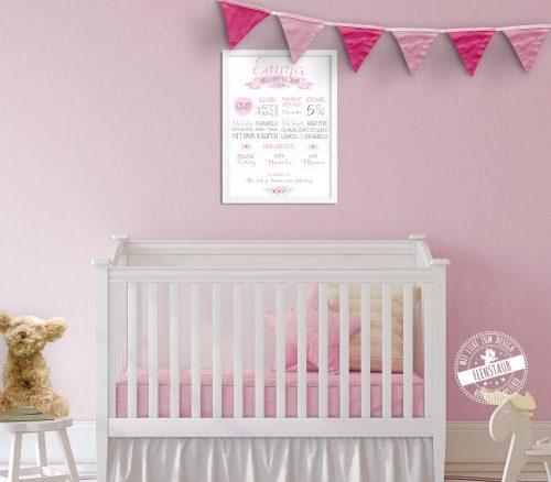 Babyprint zum ersten Geburtstag