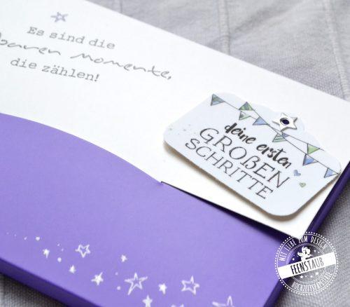 Geschenk zur Geburt Meilensteinkarten