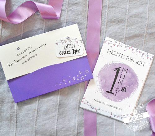 Milestones Karten für dein Baby