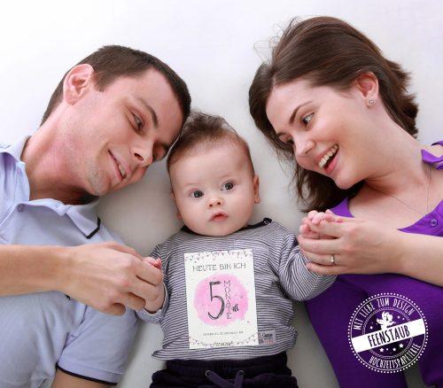 Meilensteinkarten für dein Baby