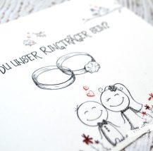 Karten für den Ringträger