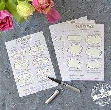 Gästekarten für Hochzeitsgäste