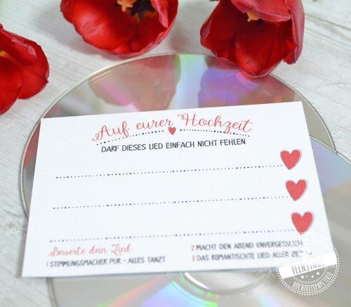 Musikwünsche auf einer Hochzeit