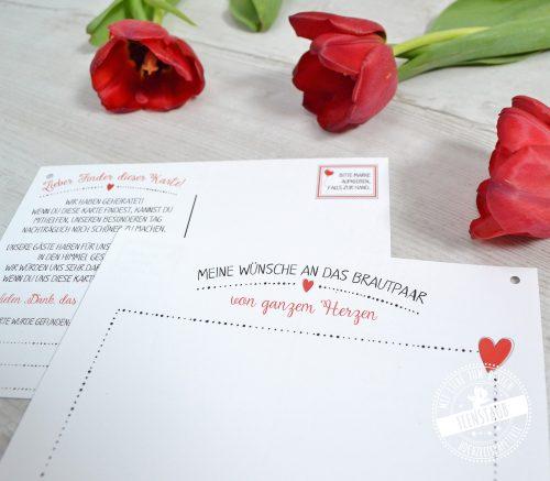 Wunschkarten für Luftballone