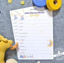 Karten für Babyshower