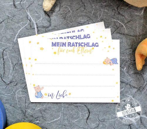 Babyparty Karten