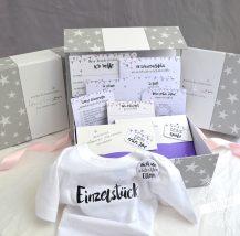 Babybox als Geschenk zur Geburt eines Mädchens
