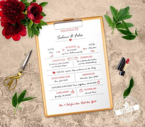 Geschenk zur Hochzeit