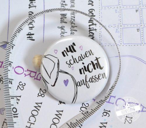 Button für Schwangere