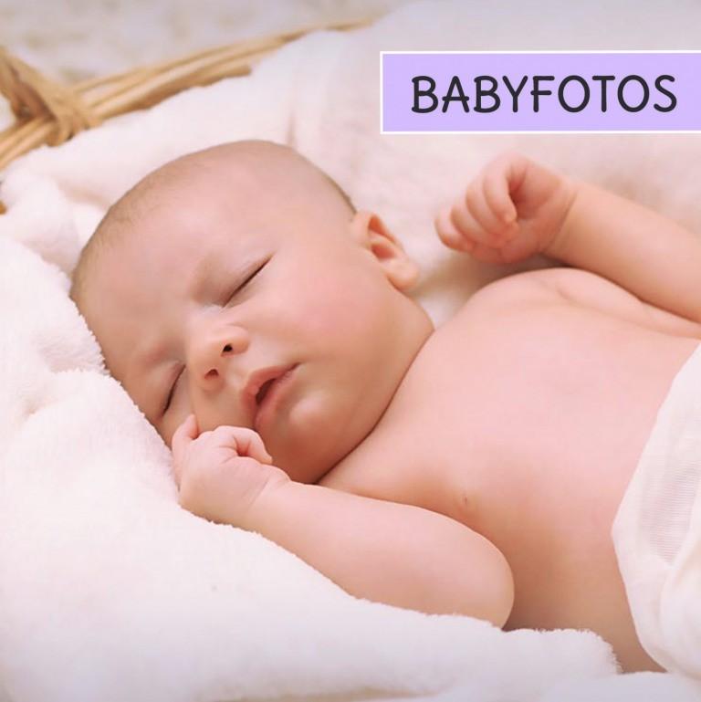 Tipps und Ideen für Babyfotos zur Geburtsanzeige