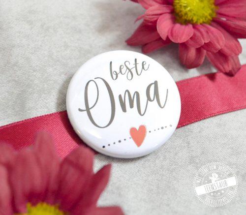 beste Oma Button