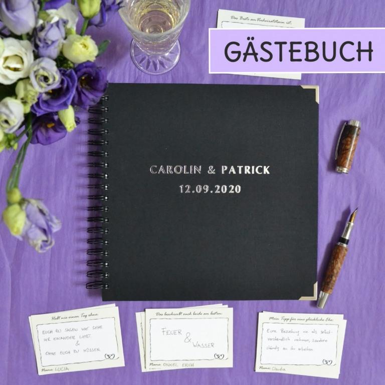 Alternativen zu herkömmlichen Gästebüchern für eure Hochzeit