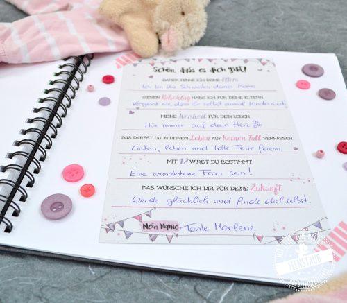 gästebuch für babyshower