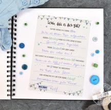 Gästebuch Idee für TAufe