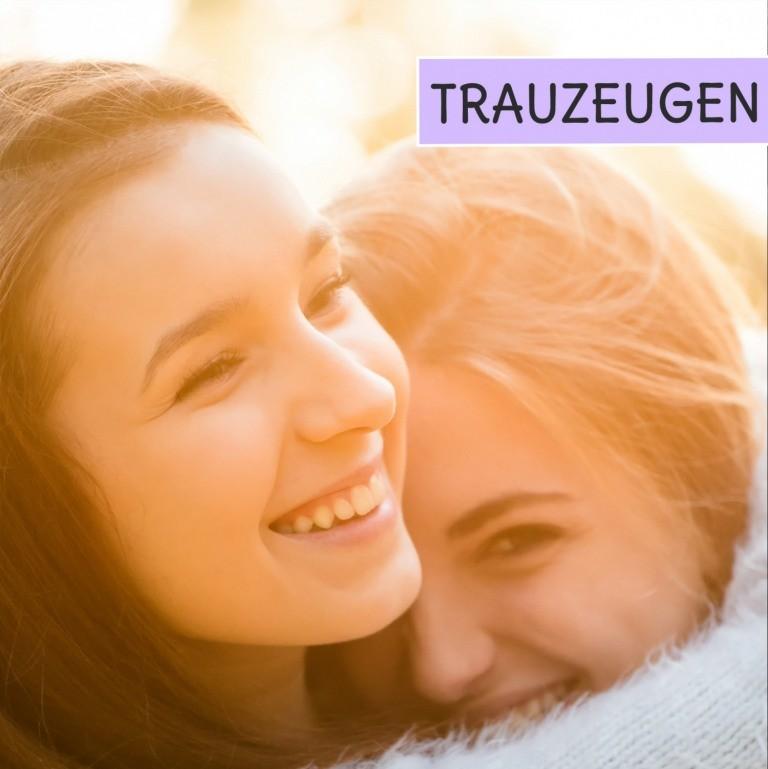Trauzteugen und ihre Aufgaben mit gratis Checklisten