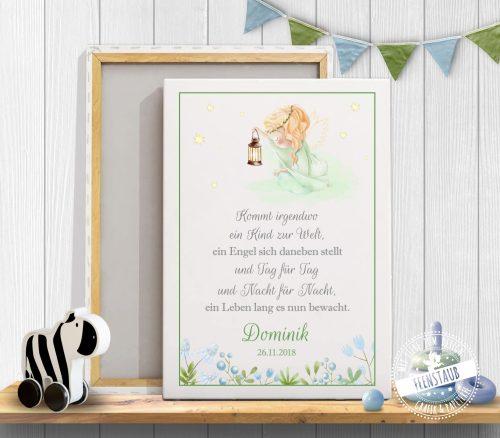 Schutzengel Print für Babyzimmer