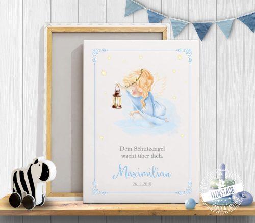 Bild mit Engel für Kinderzimme