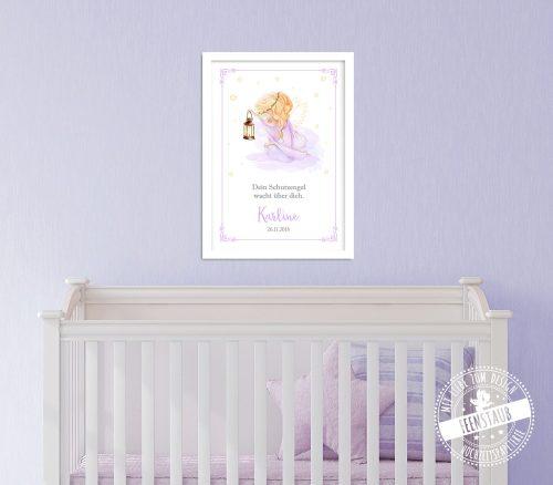 Babyzimmer Schutzengel Bild