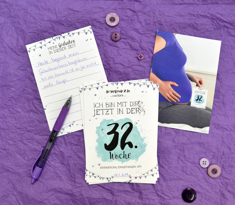 Milestones als Alternative zum Schwangerscahftstagebuch für deine Schwangerschaft
