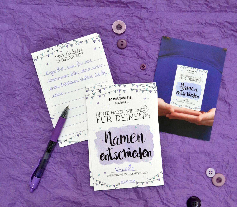 Schangerscahftstagebuch im Kartenformat für deine Schwangerschaft
