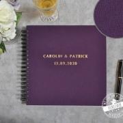 Gästebuch für die Hochzeit personalisierbar