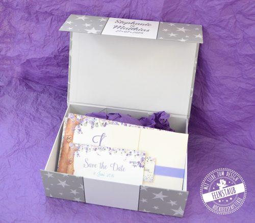 Hochzeit Box für Erinnerungen