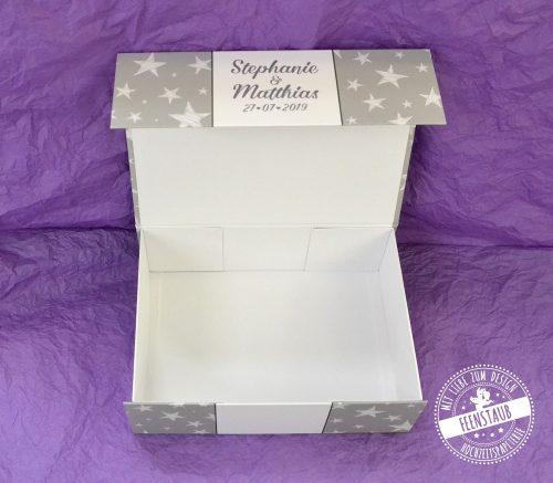 Hochzeitsbox für Erinnerungen