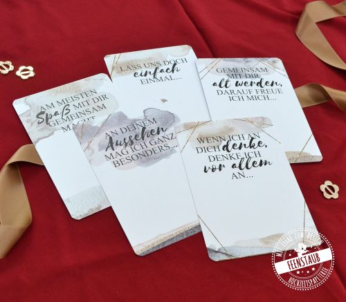 Postkarten zum Ausfüllen GEschenk zum Valentinstag