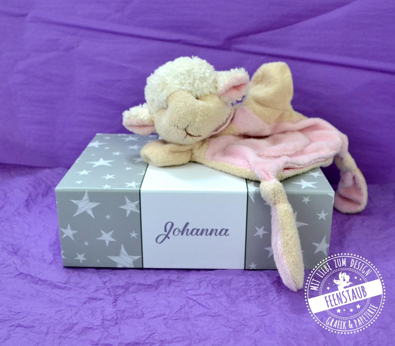 Babybox personalisiert als Zeitkapsel