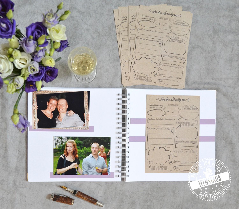 Hochzeitsgästebuch individualisierbar nach Wunsch