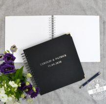 Gästebuch blanko für die Hochzeit