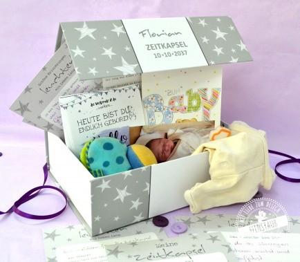 Zeitkapsel Baby Box