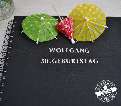 Gästebuch zum Ausfüllen für Geburtstag