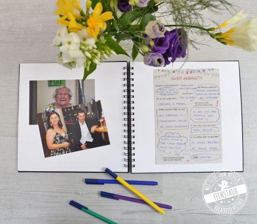 Gästebuch für runder Geburtstag