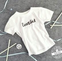 Baby Shirt - Einzelstück mit Button - Nicht von schlechten Eltern