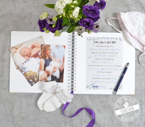 Taufe Gästebuch personalisierbar