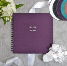 Gästebuch für Taufe, personalisierbar