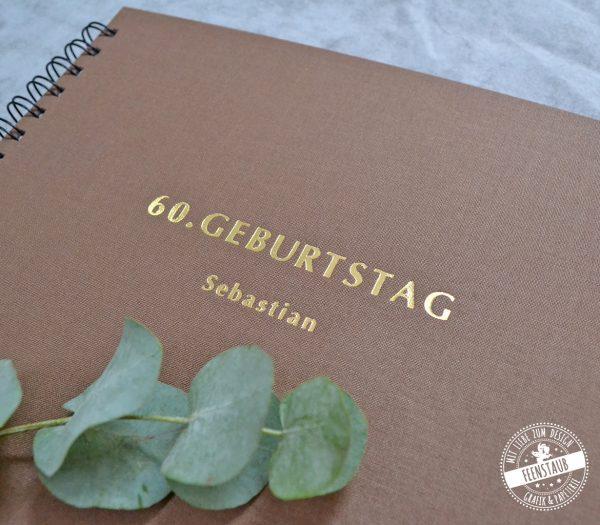 Gästebuch zum 60. Geburtstag