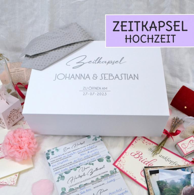 Hochzeits Zeitkapsel - was soll der Inhalt sein?