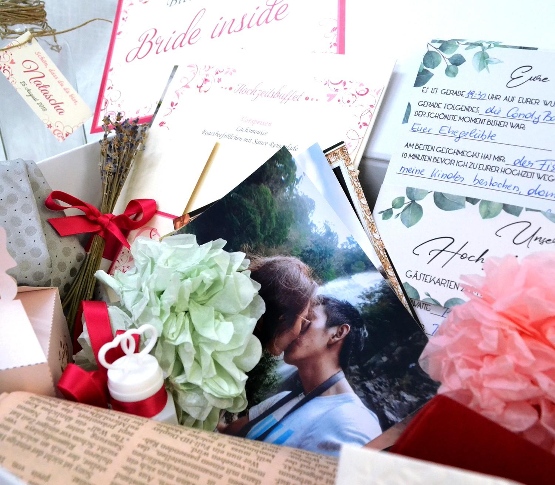 Was ist der Inhalt einer Hochzeits Zeitkapsel?