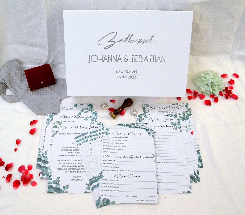 Zeitkapsel Hochzeit: Was kommt rein?