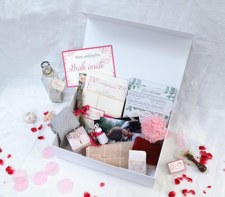 Zeitkapsel Box für die Hochzeit kaufen.