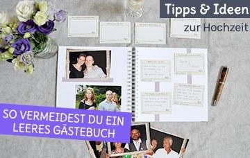 Alternativen und Ideen für dein Gästebuch zur Hochzeit