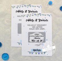 Rubbelkarte für Taufpaten