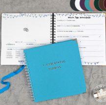 Gästebuch personalisierbar für Taufe
