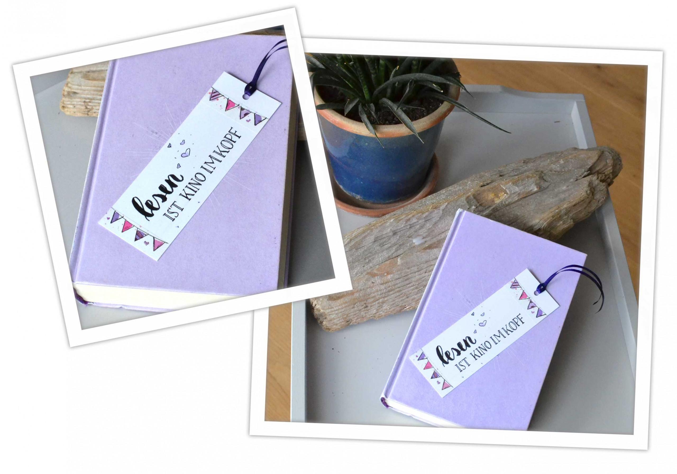Washi tape DIY Geschenkidee: Lesezeichen zum Verschenken