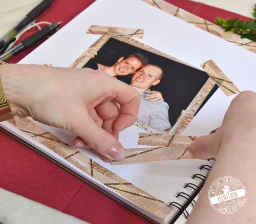 Washi Tape Klebestreifen für die kreative Gestaltung des Gästebuchs