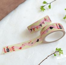 Washi Tape passend zur Hochzeit