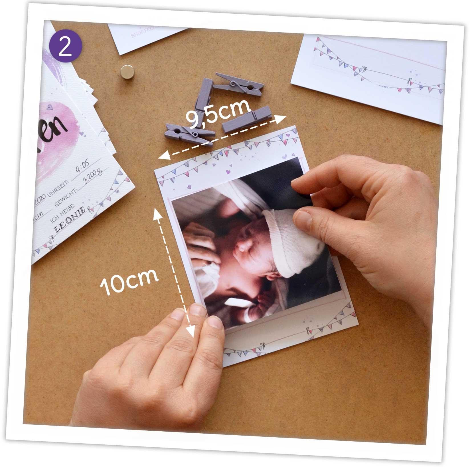 DIY Erinnerungsalbum selber machen: Anleitung Fotos einkleben