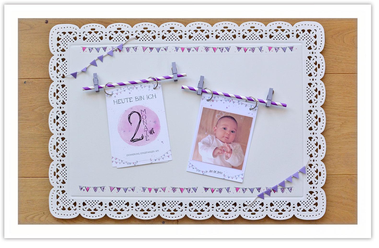 Erinnerungsalbum selber machen für dein Baby. DIY Anleitung